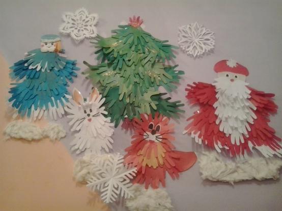 Детские новогодние поделки своими руками в детский сад