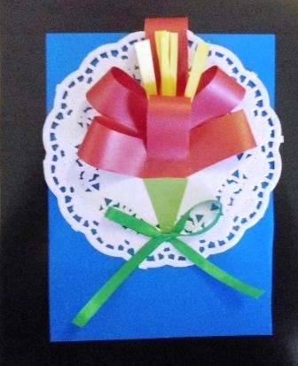 Как сделать подарок для мамы из салфеток
